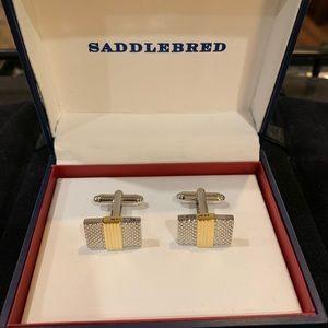 SaddleBred CuffLinks